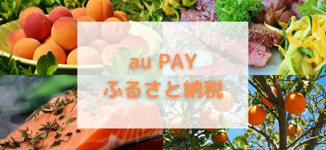 【毎日更新】au PAYふるさと納税はどのポイントサイト経由が一番お得か!